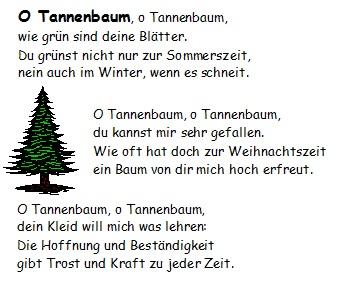 Oh Tannenbaum Akkorde.By Photo Congress Text Des Liedes Oh Tannenbaum